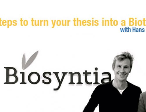 10 steps to turn your thesis into a biotech