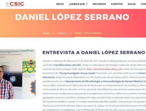 Entrevista a Daniel López Serrano – CSIC Bruselas