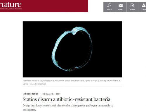 Statins disarm antibiotic-resistant bacteria – Nature