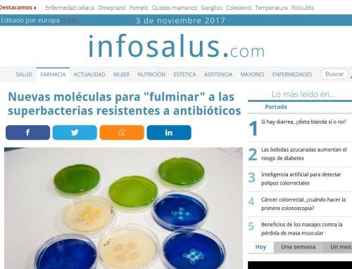 """Nuevas moléculas para """"fulminar"""" a las superbacterias resistentes a antibióticos – Infosalud"""