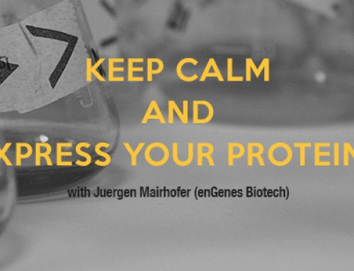 Keep calm and express your proteins