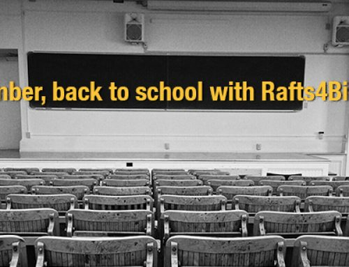 September, back to school with Rafts4Biotech