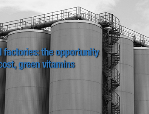 Bacterial factories: the opportunity for low-cost, green vitamins